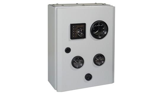 Pentru instalarea pe grupurile electrogene principale sau montaj pe peretele despărțitor.