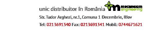 Unic distribuitor național autorizat în Romania al motoarelor Beta Marine